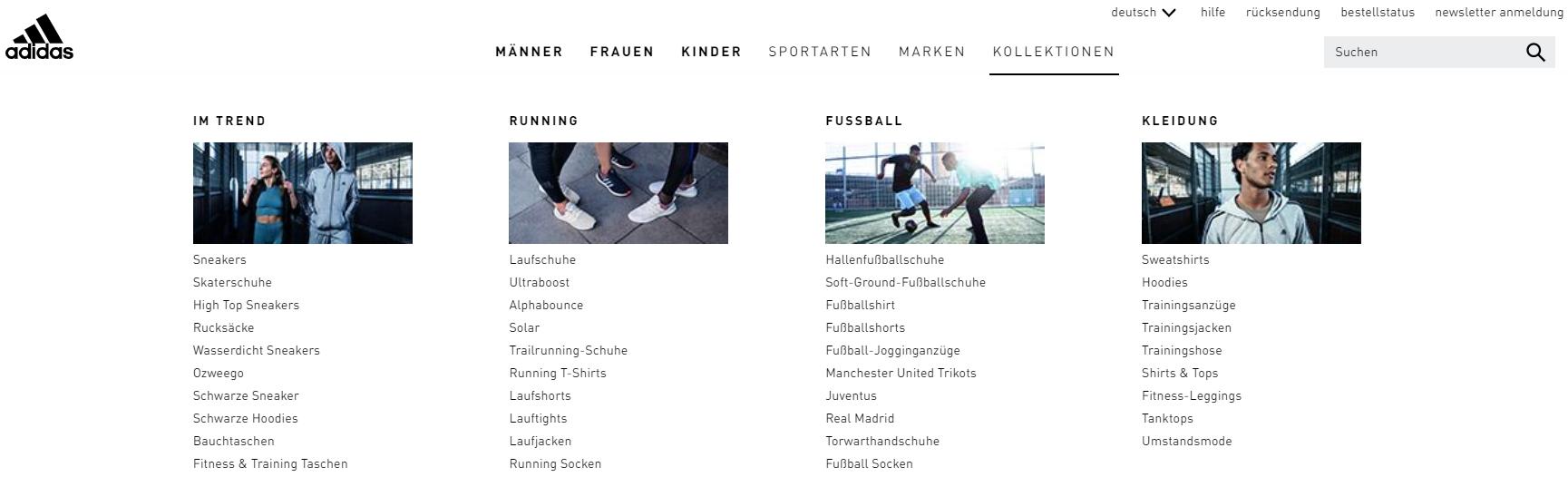 Die Adidas Kollektionen
