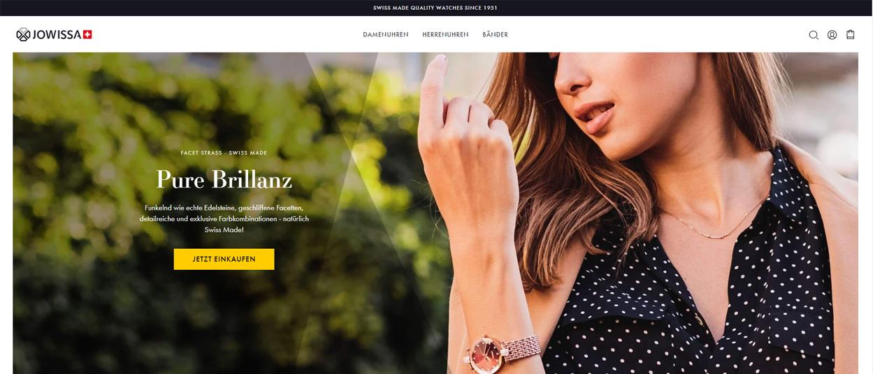 Jowissa Online-Shop für Uhren