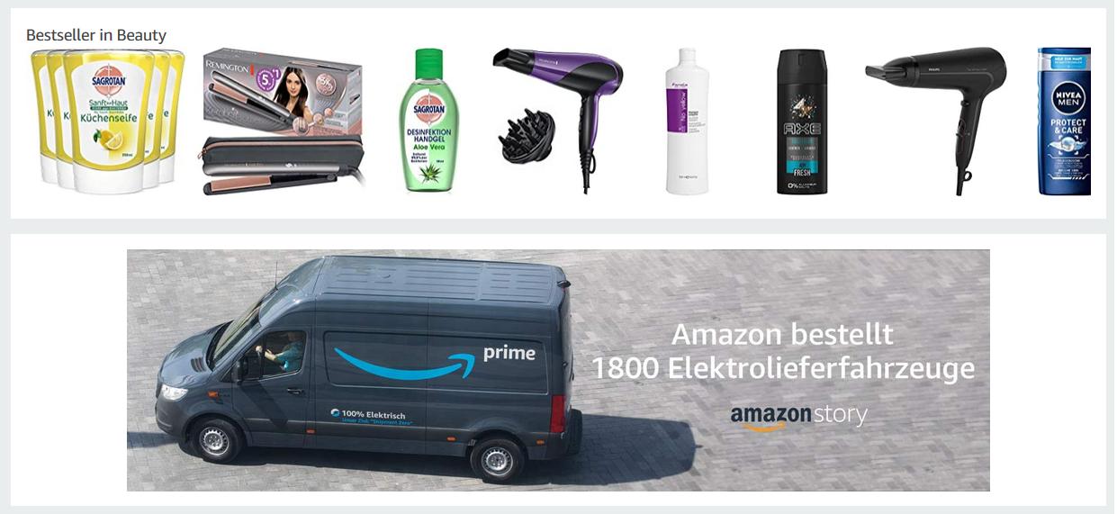 Amazon Artikel zum einkaufen