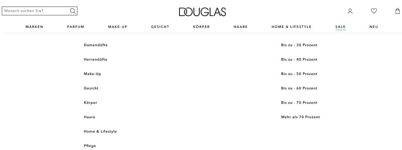 Die Douglas Sale Angebote