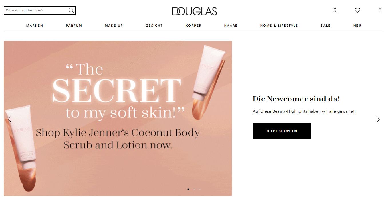 Die Kategorien von Douglas