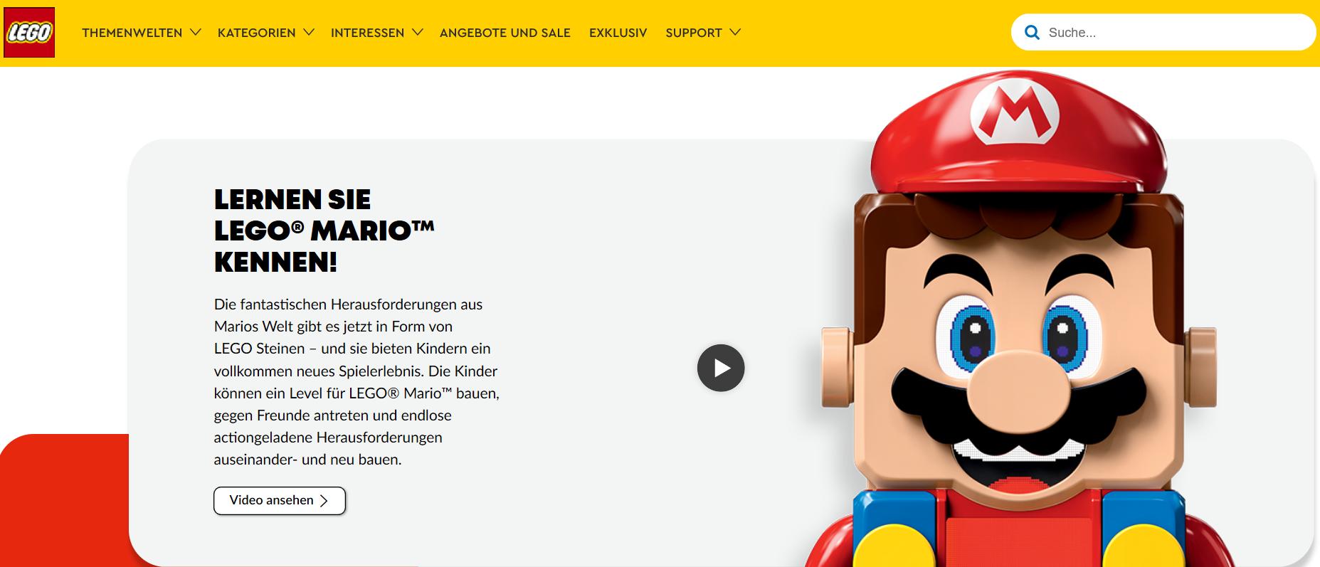 Lego Startseite