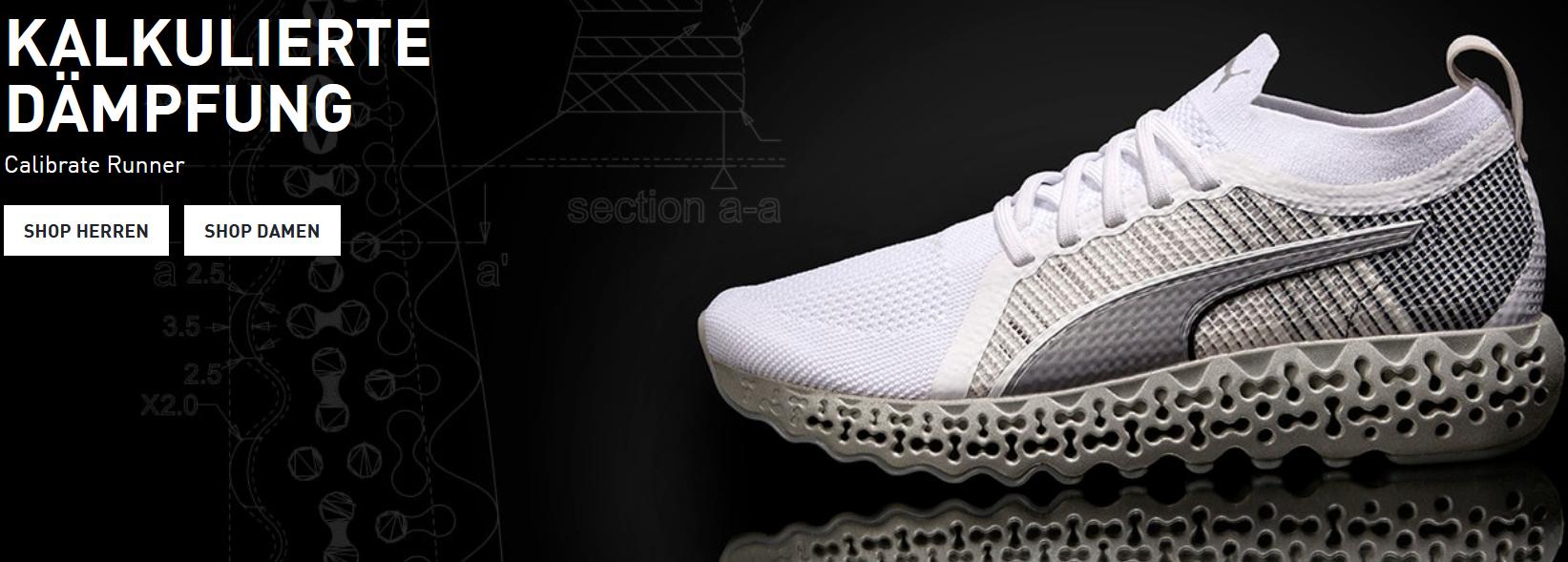 Der Schuh von Puma