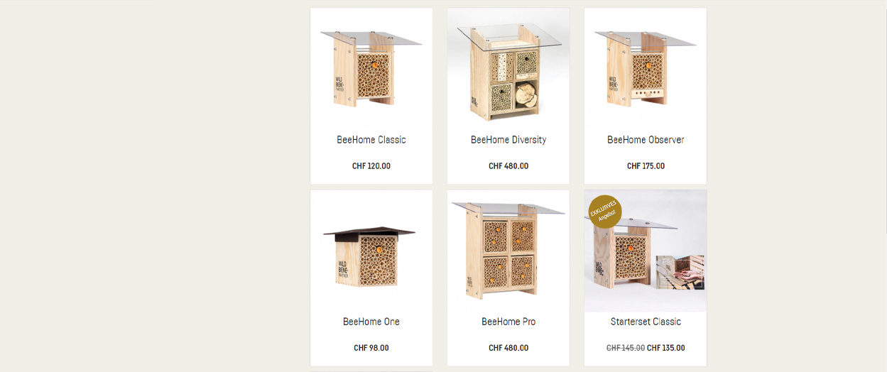 Wildbiene + Partner Produkte
