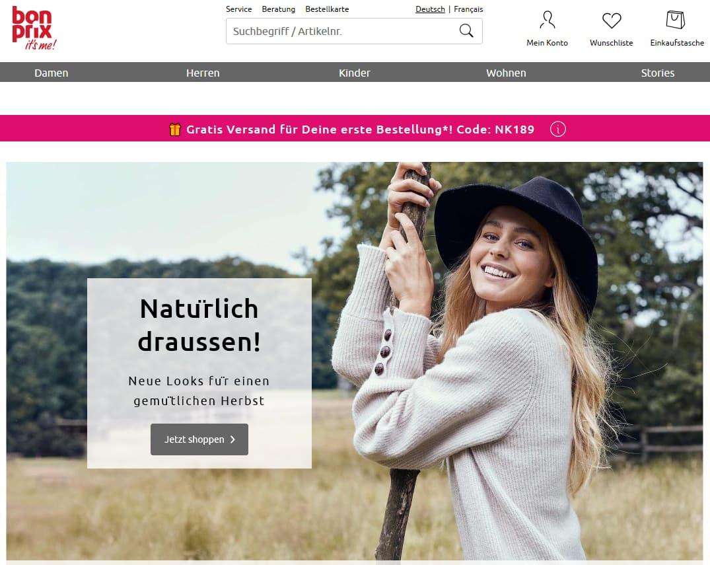 Bonprix Gutscheincode entdecken und Mode günstig kaufen