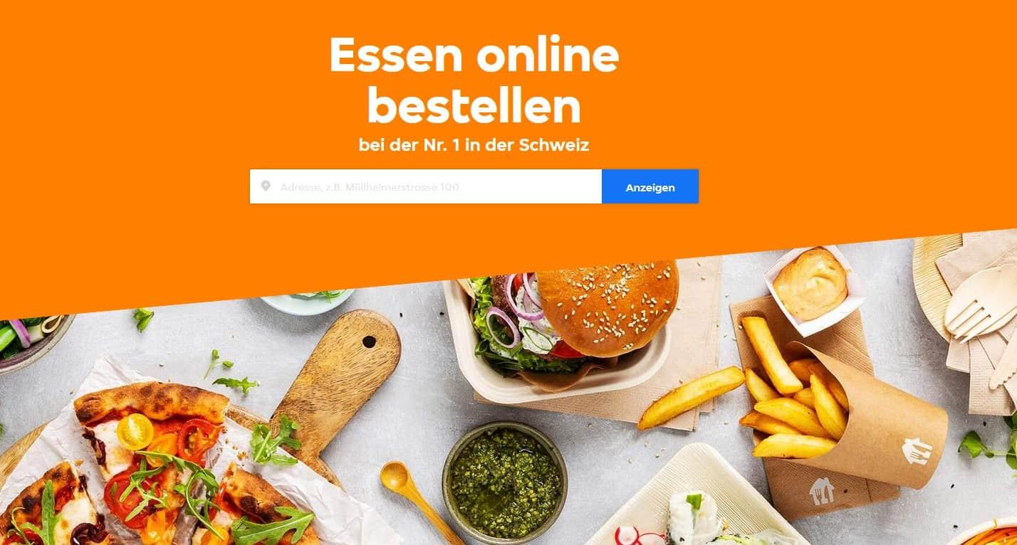 JUST EAT CH Gutschein nutzen und Lieblingsessen günstiger bestellen