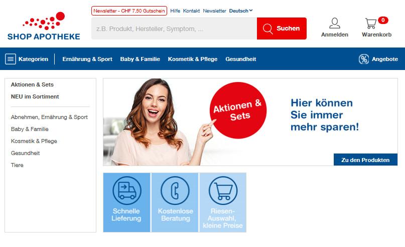 Shop Apotheke Gutschein nutzen und sparen